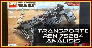 LEGO 75284 transporte Ren Analisis