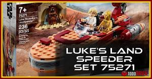 LEGO 75271 Star Wars Landspeeder de Luke Skywalker