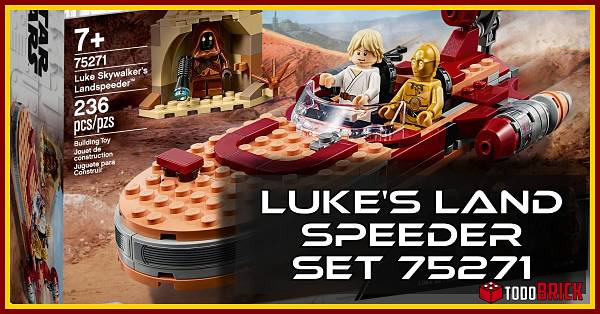 LEGO 75271 Star Wars Landspeeder de Luke Skywalker
