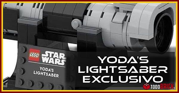 Sable de luz de Yoda o Yodas Lightsaber
