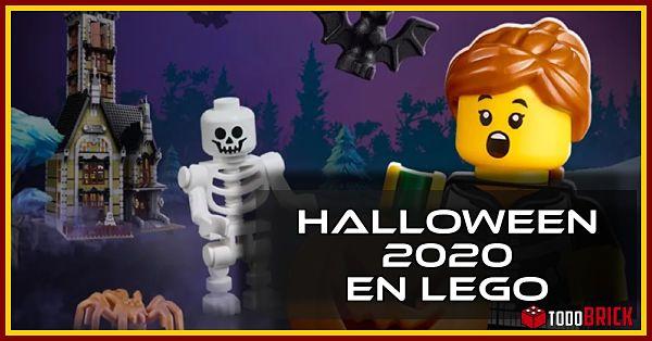 Llega Halloween 2020 en LEGO
