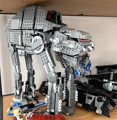 AT AT pesado de la Primera Orden set LEGO 75189