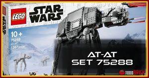 El mejor AT AT de LEGO Star Wars 75288