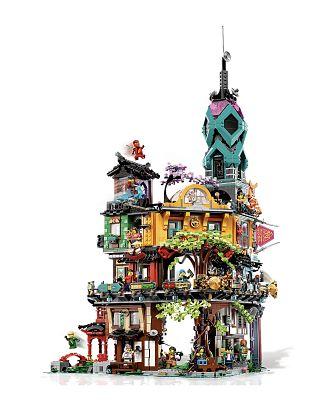 Jardines de la Ciudad de Ninjago de LEGO 71741