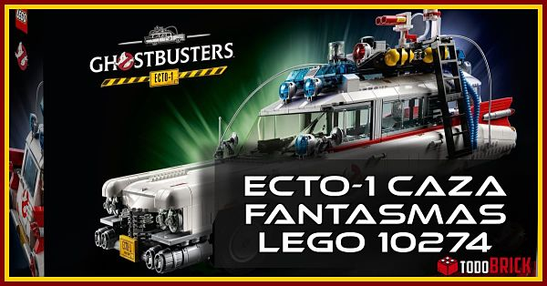LEGO ECTO-1 Cazafantasmas set 10274