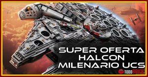 Oferta 25 descuento halcon milenario UCS lego 75192