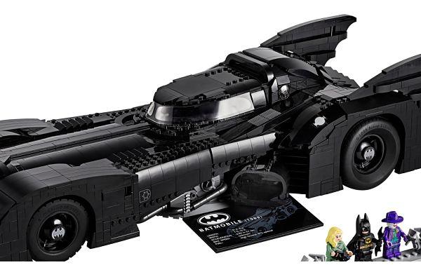 Batmovil 1989 set 76139 de LEGO techo original final