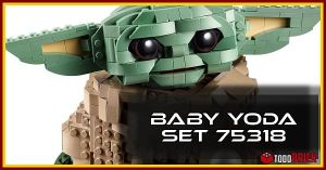 El nino Baby Yoda set LEGO 75318
