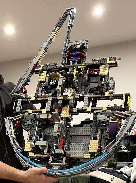 Estructura interna del LEGO Star Wars 75192