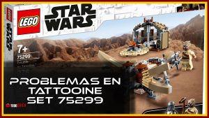 Problemas en Tatooine set LEGO The Mandalorian 75299
