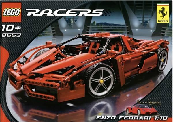 El mejor Ferrari de LEGO Technic que han hecho set 8653 Enzo Ferrari