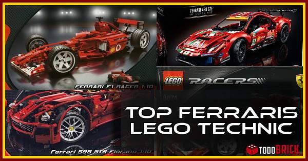 Los mejores Ferraris de LEGO Technic