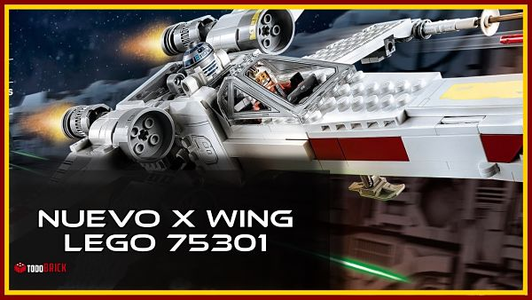 Nuevo Ala X de LEGO 75301