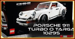 Nuevo LEGO Porsche 911 Turbo