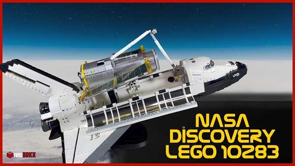 LEGO Discovery transbordador espacial 10283 | Armando la discovery de LEGO 10283