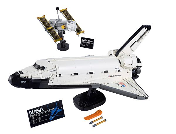 Nuevo LEGO 10283 Transbordador Espacial Discovery