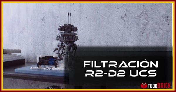 Se filtra la primera imagen de R2-D2 UCS de LEGO 75308