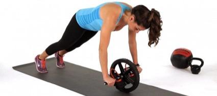 ejercicios ab wheel
