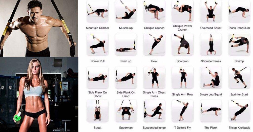 mejores ejercicios TRX