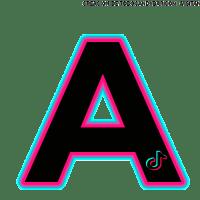 Letras Abecedario inspirado en TIKTOK descarga gratis