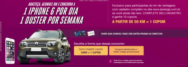 Promoção-Ipiranga-KM-Vantagens-iphone-duster