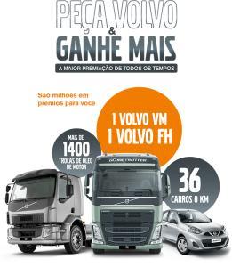 Promoção Volvo Peça Volvo E Ganhe Mais