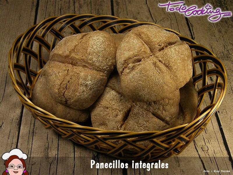 Panecillos integrales Cesta