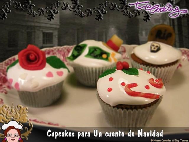 Cupcakes Cuento Navidad