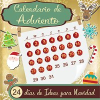 Logo calendario de adviento bloguero