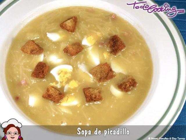 Sopa Picadillo
