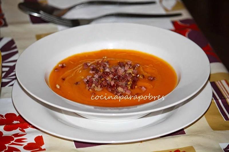 ##cocinaparapobres-cremacalabazayzanahoriaconjamon