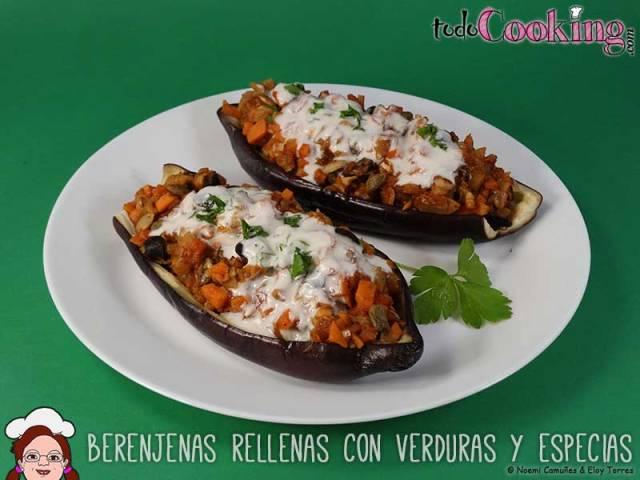 Berenjenas-Rellenas-Verduras-Especias