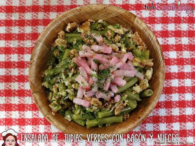 Ensalada-judias-verdes-bacon-nueces-03