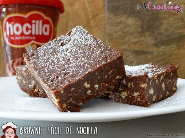 brownie-fácil-de-nocilla-01 recetas dulces sin gluten