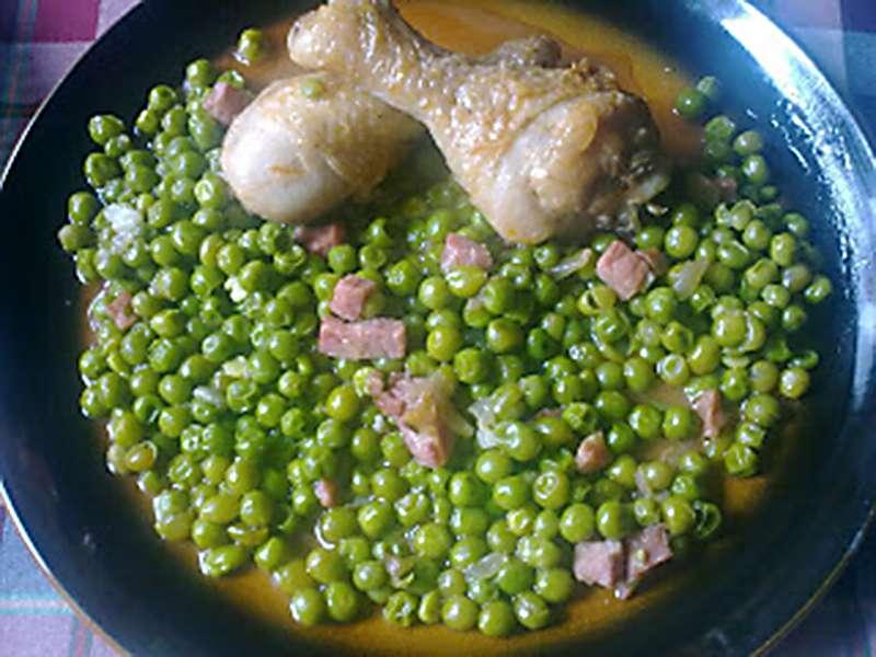 ##Guisantes con pollo recetas con legumbres