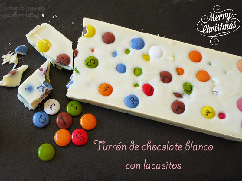 Turron Chocolate Blanco