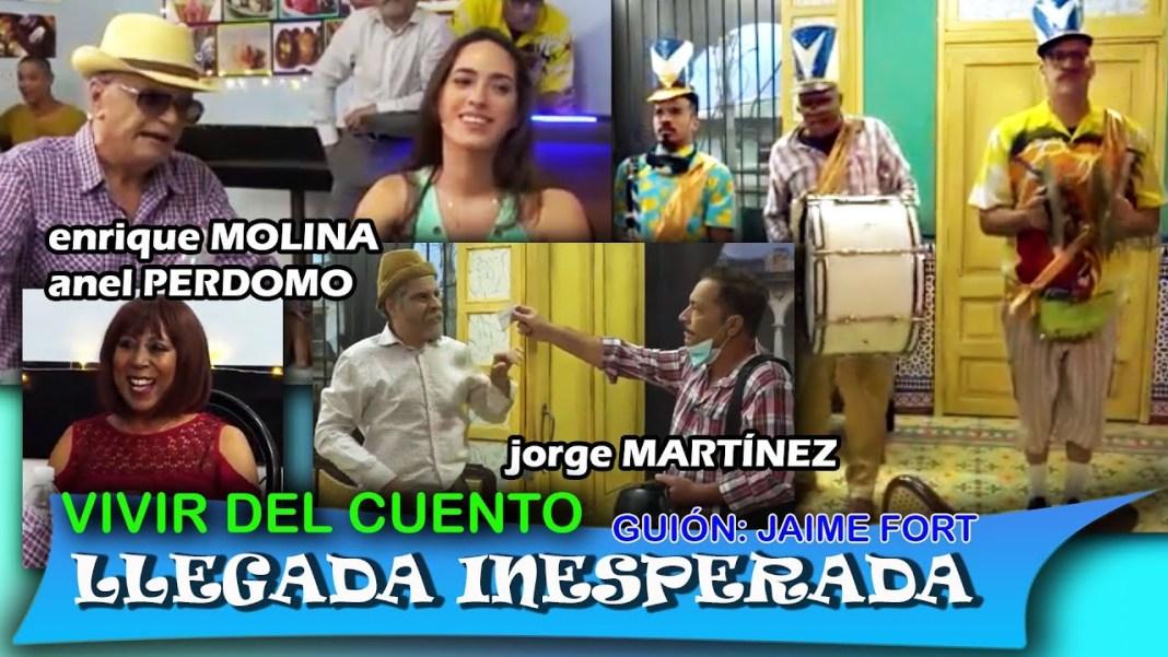 """Vivir del Cuento """"LLEGADA INESPERADA"""" (Estreno 10 mayo)"""
