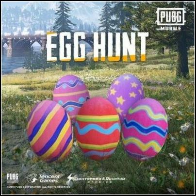 PUBG Mobile huevos