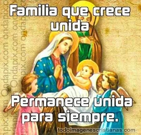 imagenes cristianas con frases sobre la familia