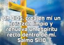 Imágenes Cristianas del salmo 51:10