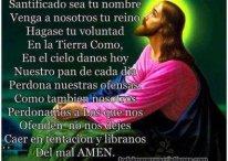 Imágenes del Padre Nuestro con Jesucristo