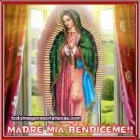 Imágenes religiosas de la Virgen de Guadalupe