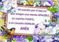 Imágenes Cristianas: Mi oración por ti hoy es…