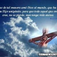 Imágenes Cristianas de Jesús en la Cruz con frases