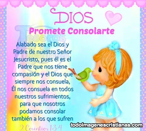 imágenes cristianas Dios promete consolarte