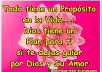 Imágenes Cristianas: Dios tiene un plan para ti