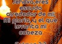 Imágenes cristianas: Jehová tu levantas mi cabeza