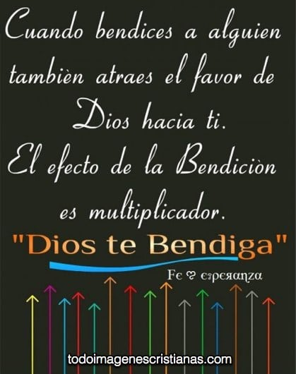 imagenes cristianas de dios te bendiga