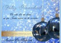 Hermosas imágenes de Navidad con frases cristianas