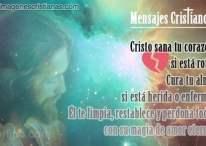 Imágenes cristianas: Cristo sana tu corazón si está roto